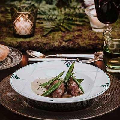 plato principal catering comuniones madrid